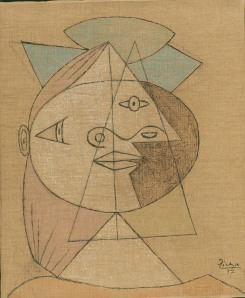 picasso sketches woman